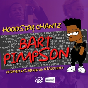 Hoodstar Chantz - Bart Pimpson Artwork [Front]